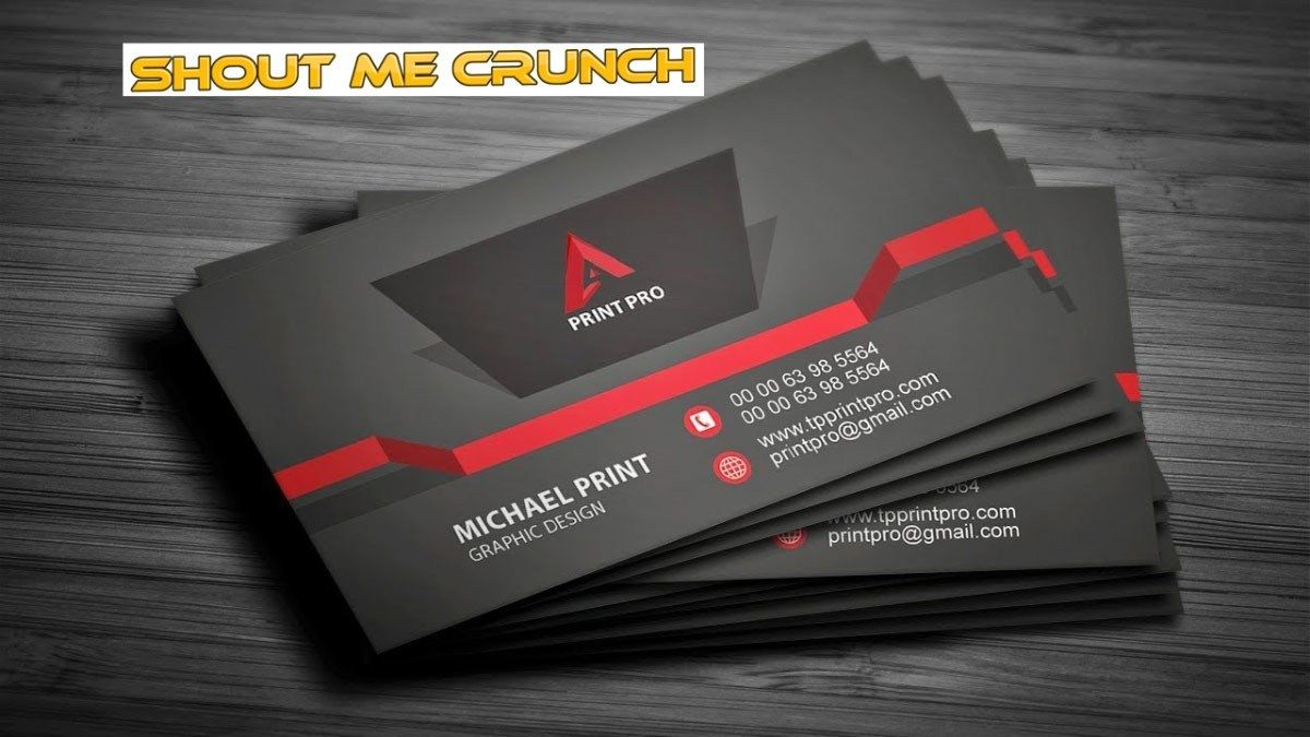 How To Make A 3d Business Card With A 3d Printer 5 Steps 3d Business Card Visiting Card Models Printing Business Cards