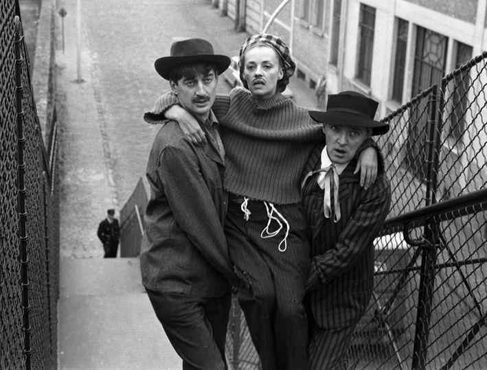 Jeanne Moreau And Oskar Werner By Raymond Cauchetier In Jules Et Jim