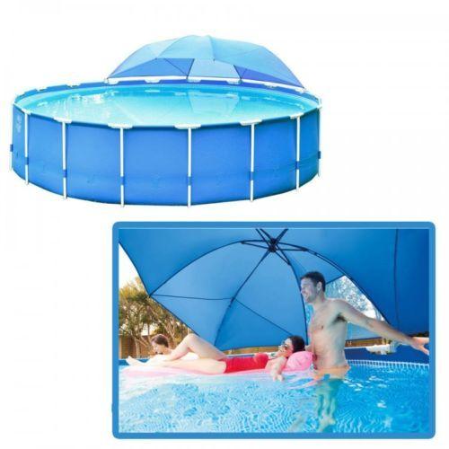 Awesome Pool Canopy Swimming Inflatable Shade Sun Fun Intex Water Play Swim Children