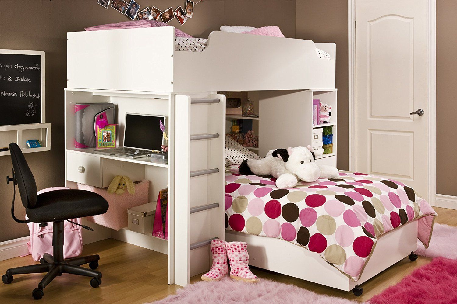 Girl Loft Beds with Desks American Freight Living Room