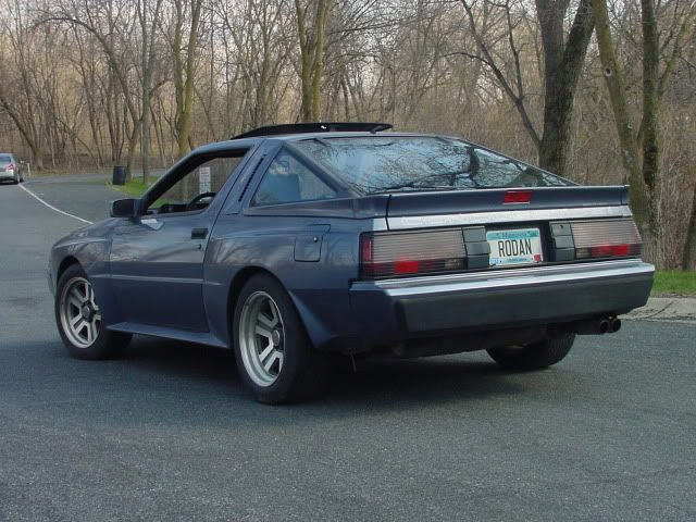 41k Miles All Original Atlantic Blue 1987 Chrysler Conquest Tsi