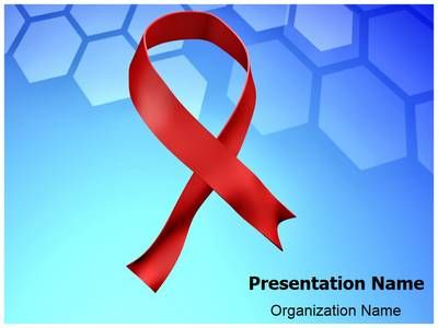 Download Our Professionally Designed Aids Ribbon 3d Animated Ppt