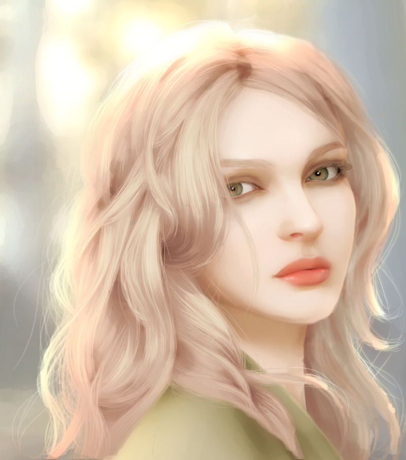 """Young Cersei Lannister (art by gothic-icecream). """"Ser Kevan remembered the girl she once had been, so full of life and mischief. And when she'd flowered, ahhhh... had there ever been a maid so sweet to look upon? ..."""