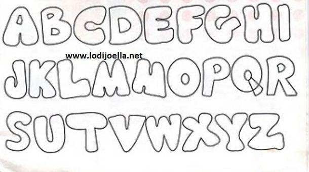 letras bonitas buscar con google moldes pinterest