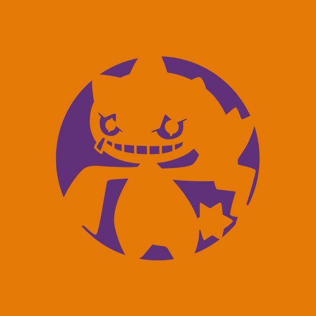 Pokemon_Pumpkin_Stencil_Banette.jpg (630×630) | pokemon | Pinterest