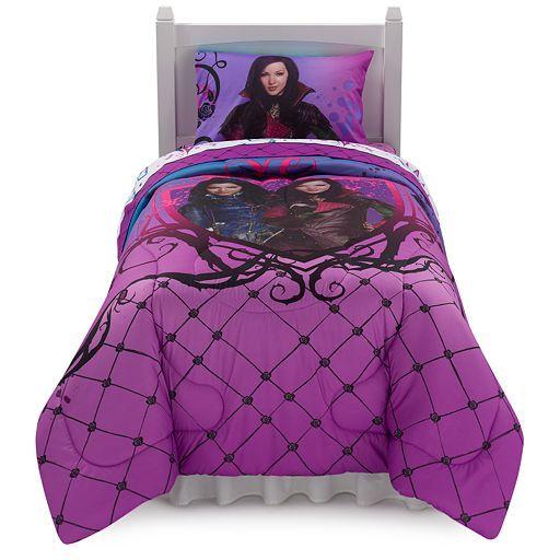 Disney S Descendants Bad Vs Good Reversible Bed Set