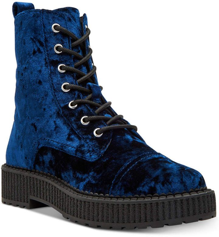 Katy perry 30MM GIA CRUSHED VELVET BOOTS S2XSup