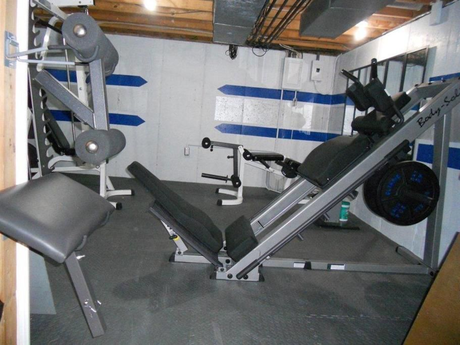 Submitted by Scott S. Here is my basement home gym, l'll