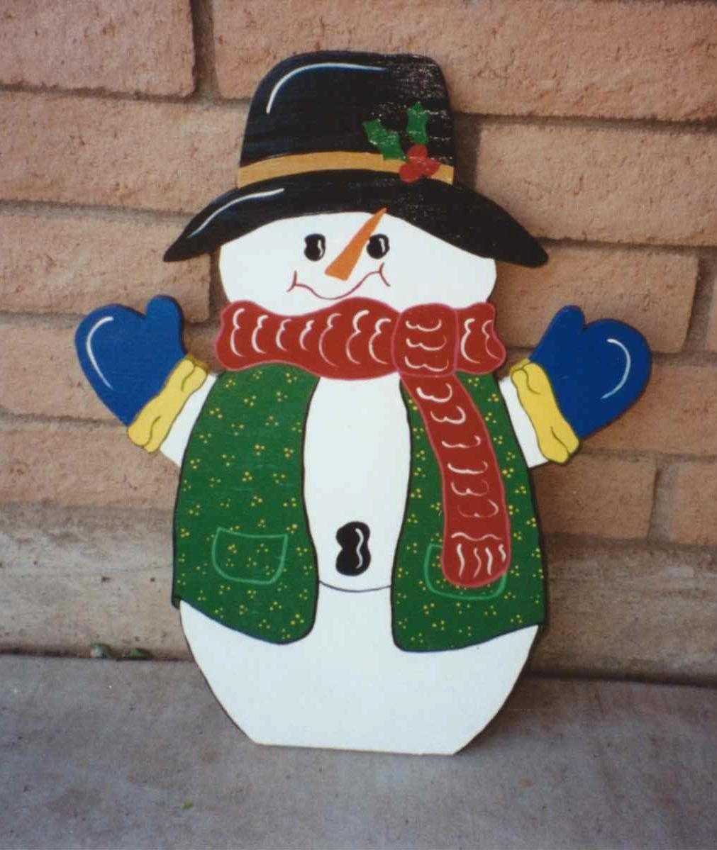 Diy Plywood Christmas Yard Decorations