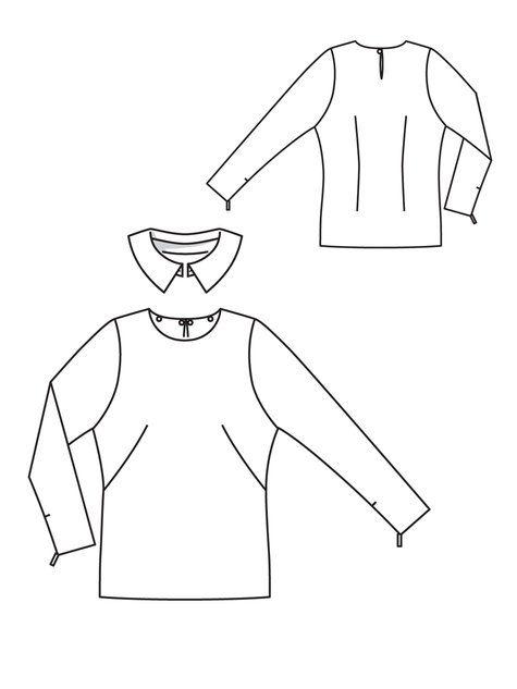 108_0812_b_large  burda style floral blouse #108  08/2012
