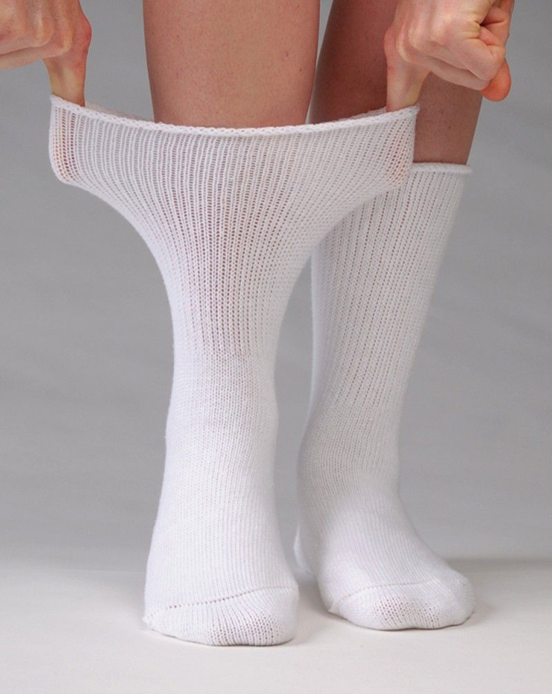 fcfbfbfff6 Care Socks-Unisex . An oversized, very loose fitting sock designed for  extremely swollen