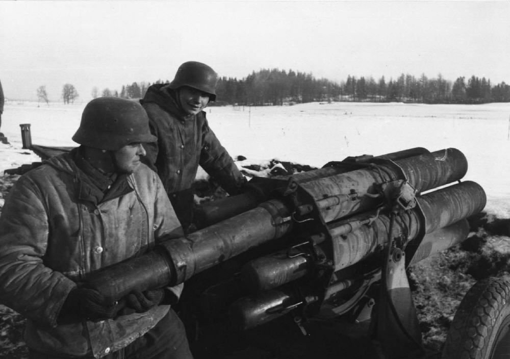 Image result for ww2 German nebelwerfer round