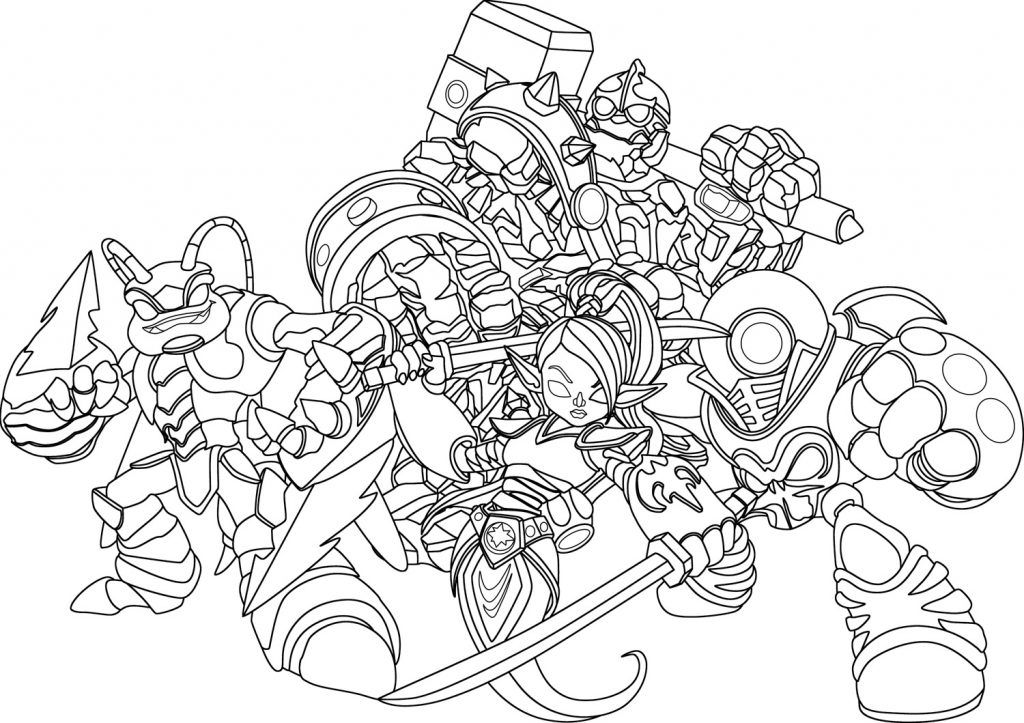 Skylanders Coloring Pages Best Coloring Pages For Kids Coloring Pages Coloring Books Zootopia Coloring Pages