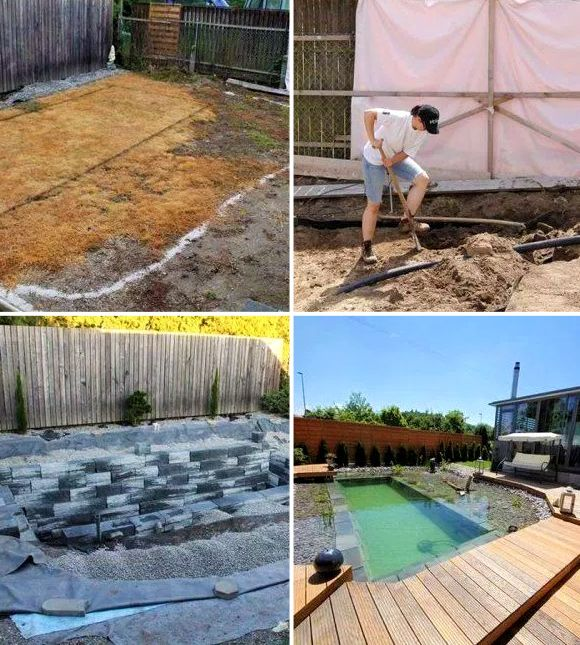 Marvelous 7 DIY Swimming Pool Ideas And Designs: From Big Builds To Weekend Projects    #