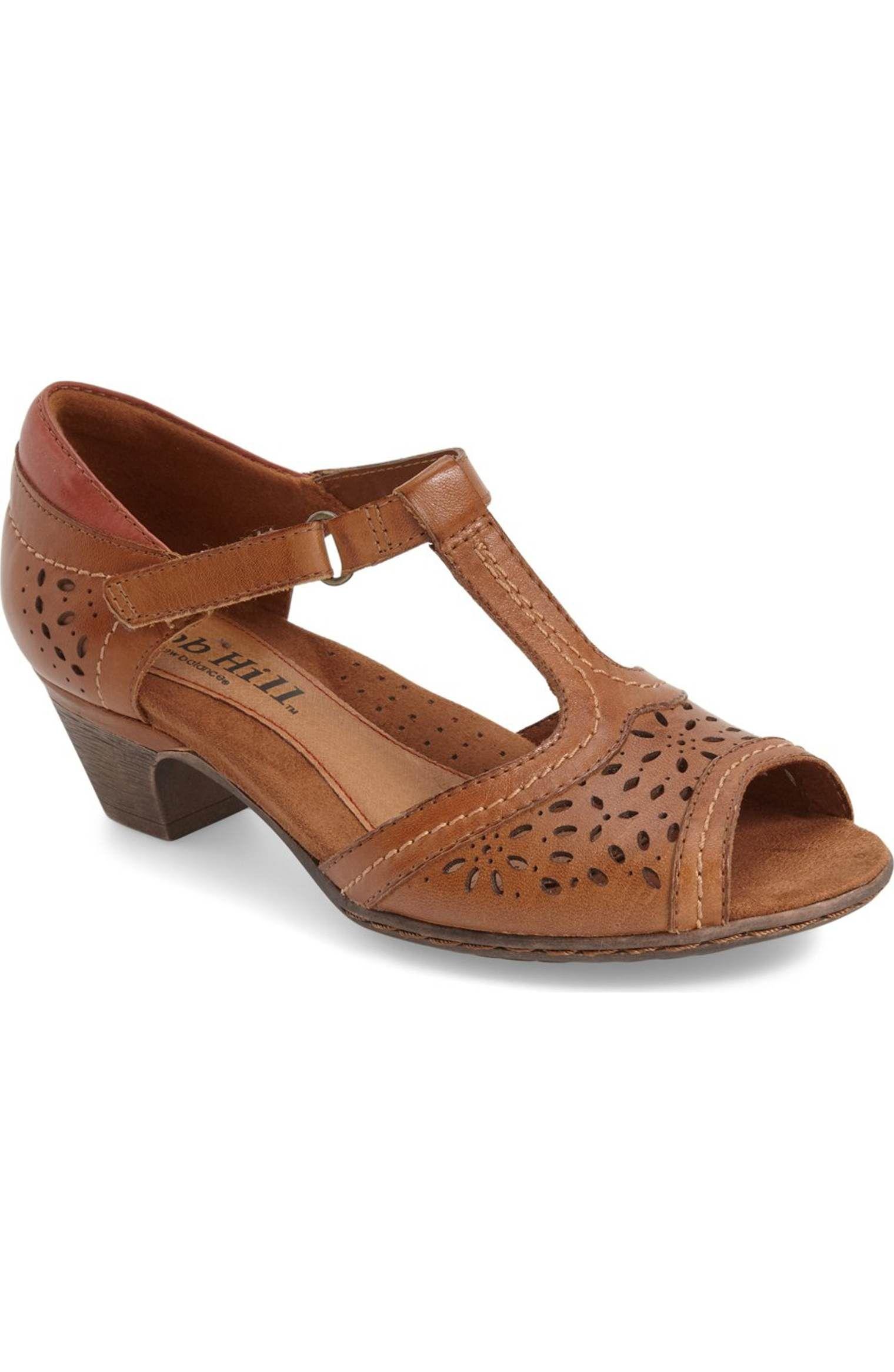 773fc39f150 Main Image - Rockport Cobb Hill  Alyssa  T-Strap Sandal (Women ...