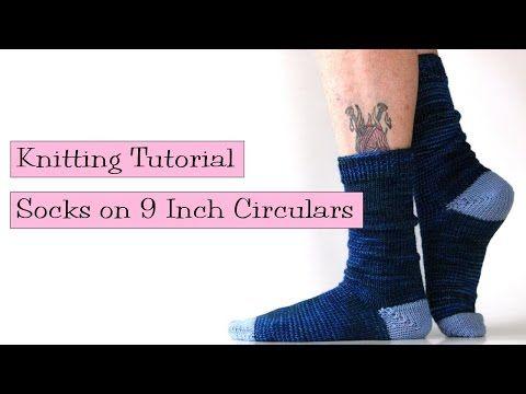Socks On 9 Circulars V E R Y P I N K C O M Knitting Patterns