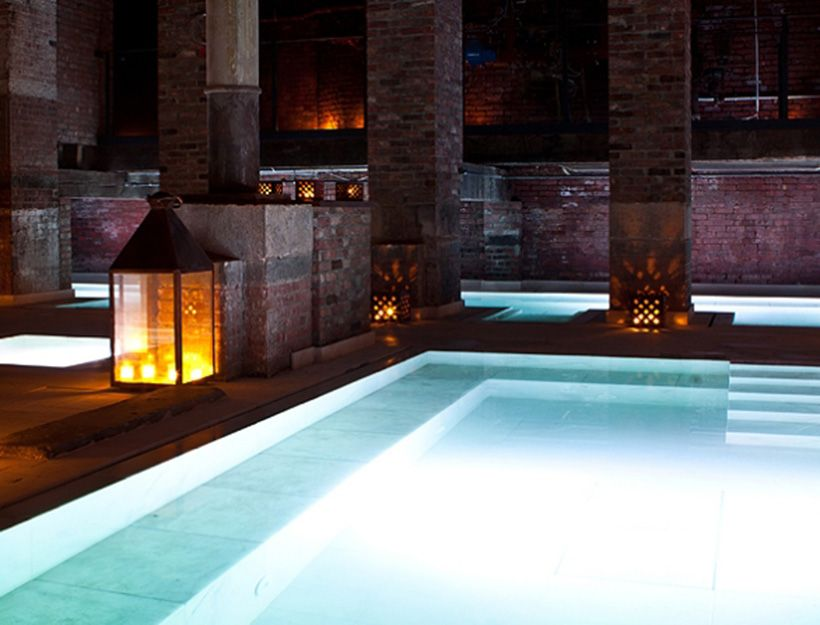 You'll leave Aire Ancient Baths in Tribeca knowing that what's great and decidedly un-broken about you is in full, super-sexy, supremely relaxed force.