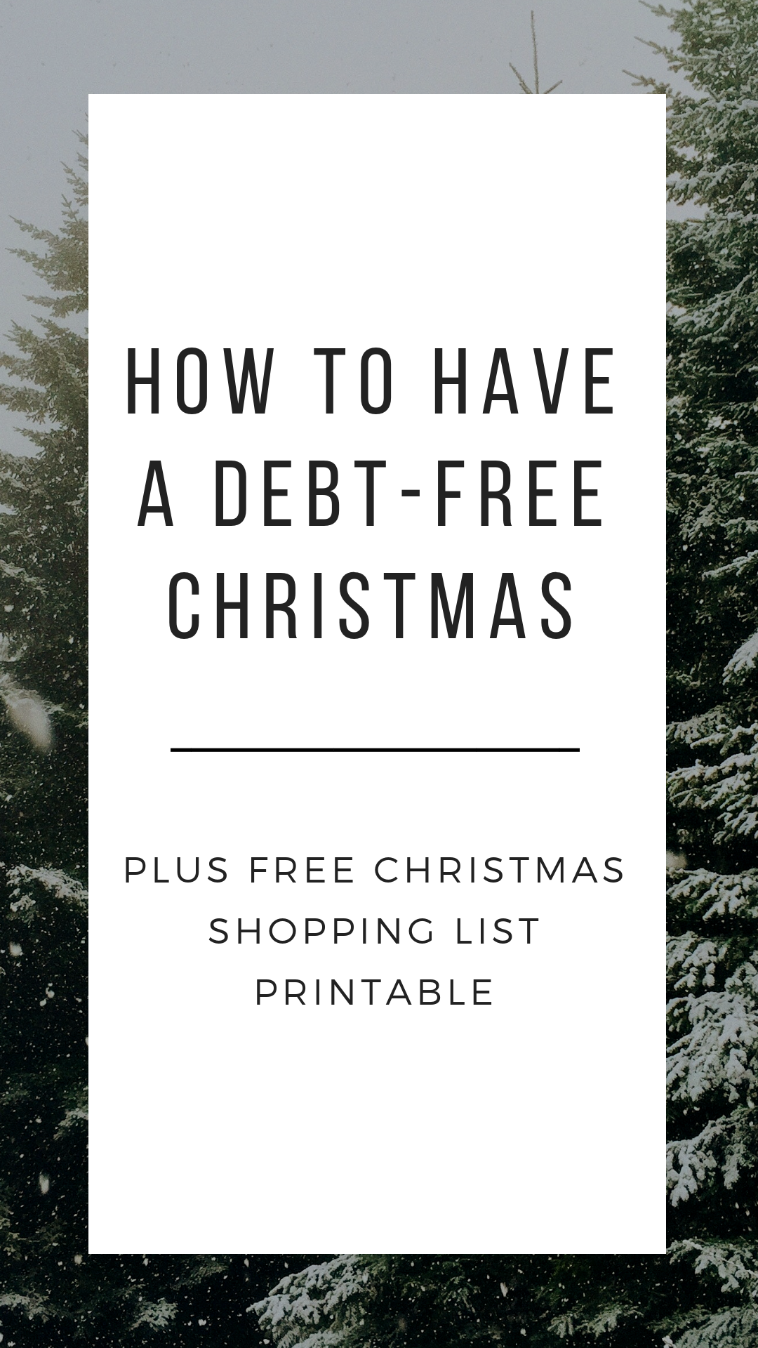 Have A Debt Free Christmas This Year Plus Free Christmas