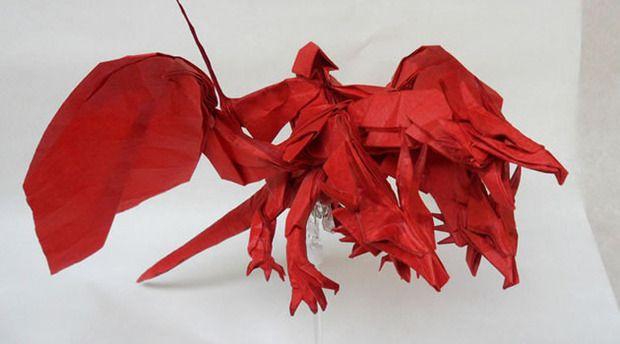 Dragon Knight Origami