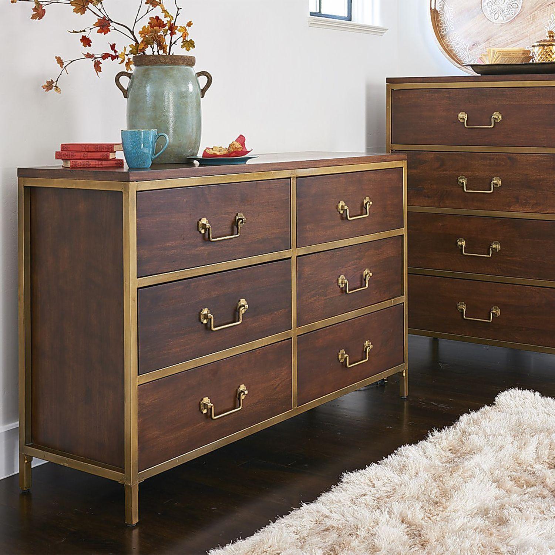 Cooper pecan brown dresser u chest bedroom set pecans dresser and