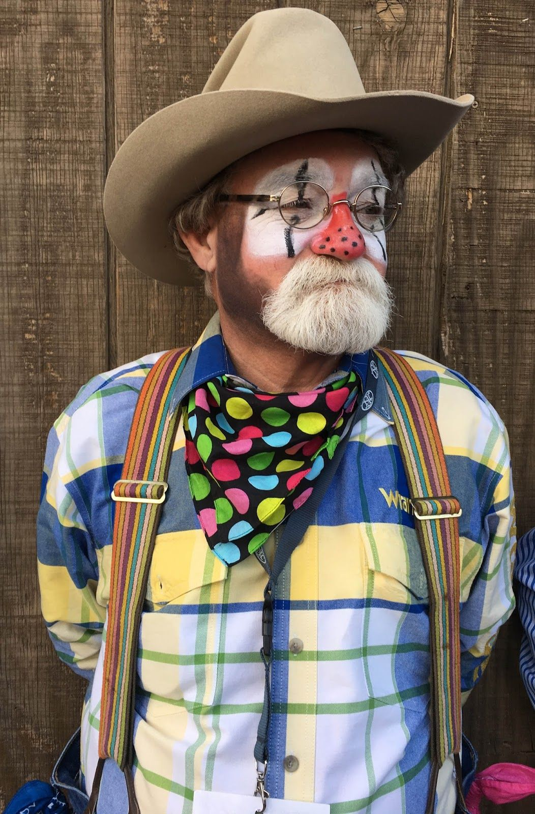 Image result for bearded clowns Cowboy hats, Hats, Halloween