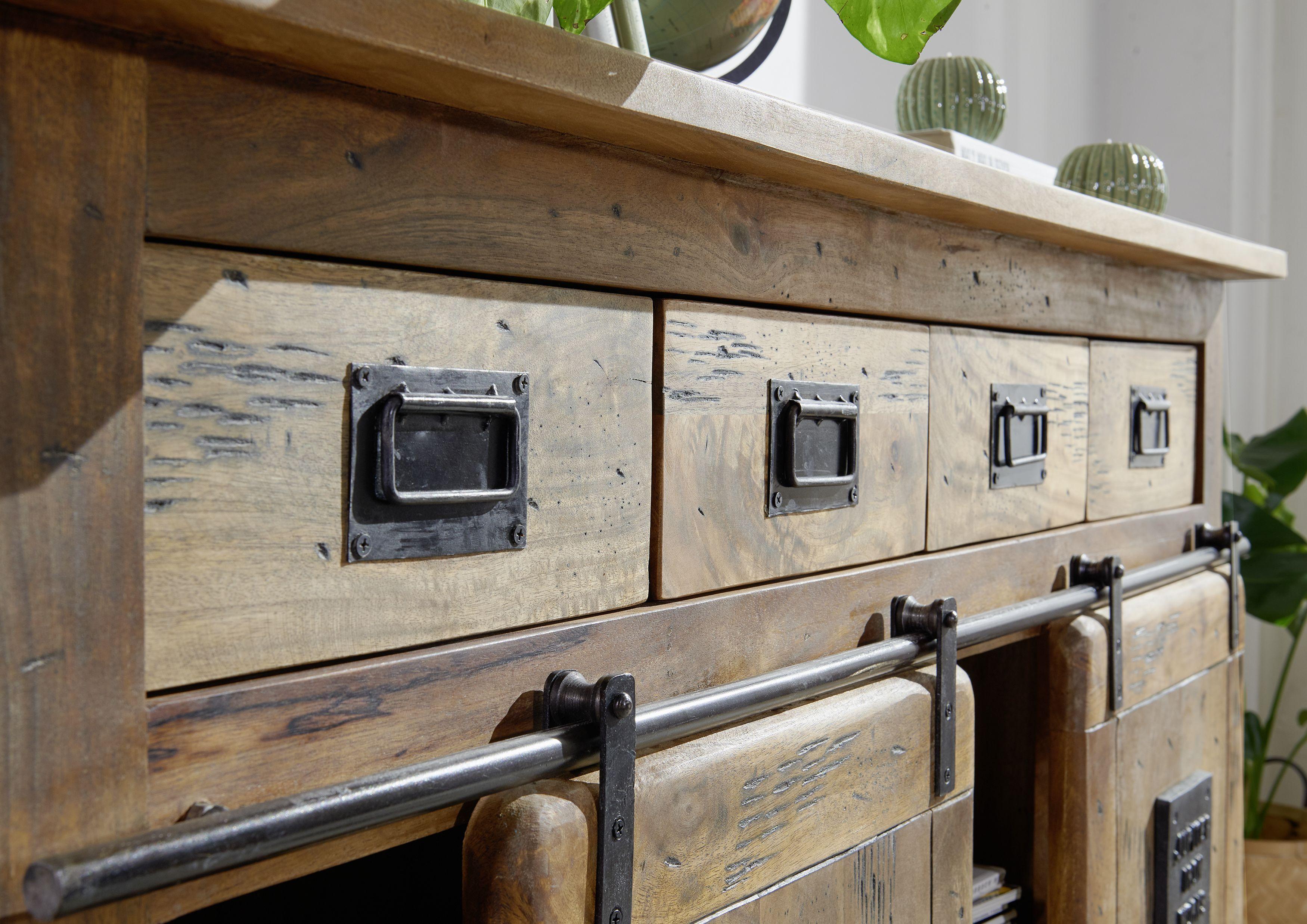 Vintagemobel Versandfrei Kaufen Mangoholz Teak Holz Kolonialstil