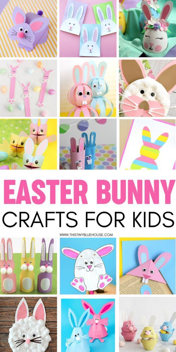 40 Adorable Easter Bunny Crafts For Kids Linda S Classroom