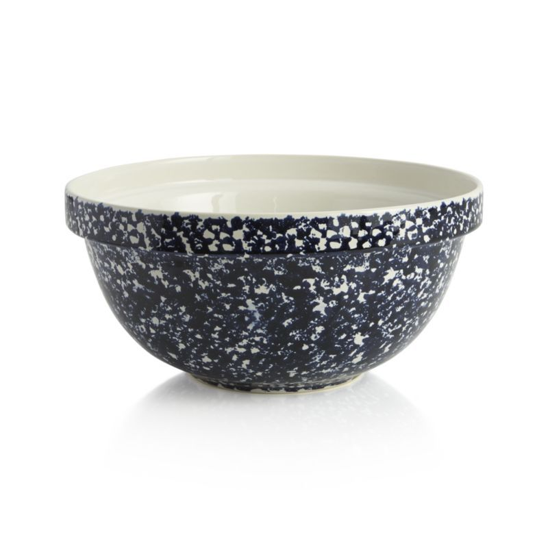 Sometimes Called Spongeware Spatterware Dates From The 18th Century Bowl Plastic Crates Mixing Bowls