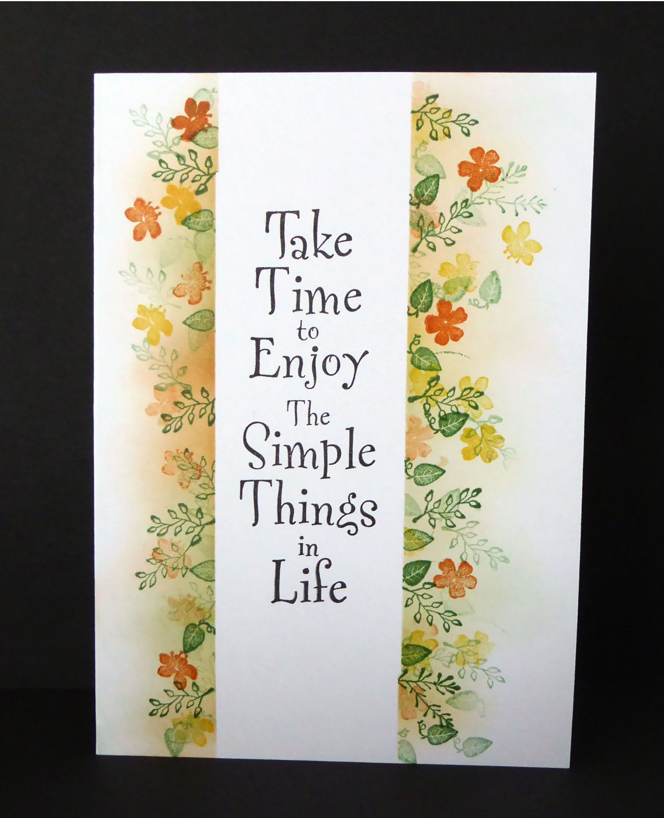 Ordinary Rubber Stamp Card Making Ideas Part - 14: Rubber Stamp Tapestryu0027s Tutorial U0026 Ideas Blog @ Pegstamps.com: Simple  Things Card