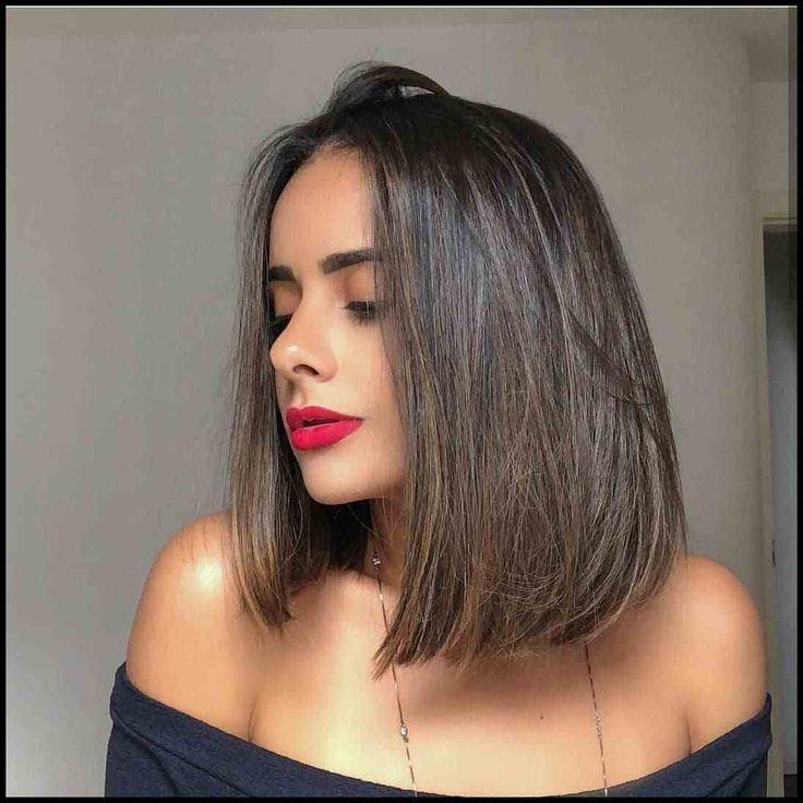 Stilvolle Schulter Länge Frisuren für Dickes Haar - Ihre ...