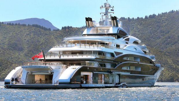 Crew Of Super Yacht Serene Take In Marlborough Views