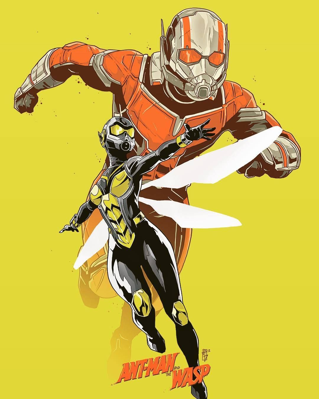 Ant Man And The Wasp Super Heros Marvel Merveilleux Et