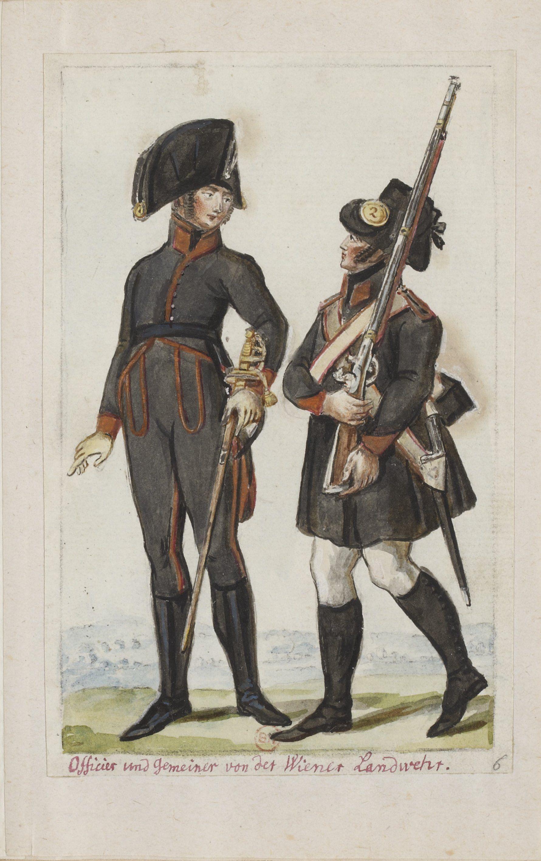 Oesterreichische Landwehr und Bürgergarde, 20. http//gallica ...