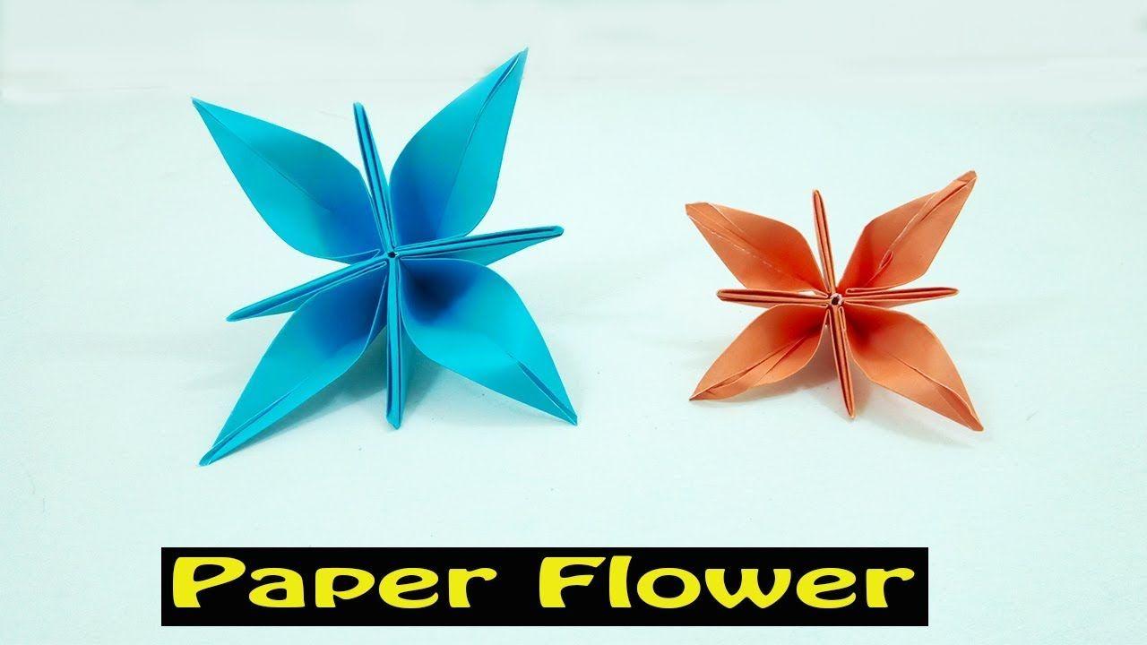 Easy origami flower for beginners diy paper flower making diy easy origami flower for beginners diy paper flower making mightylinksfo