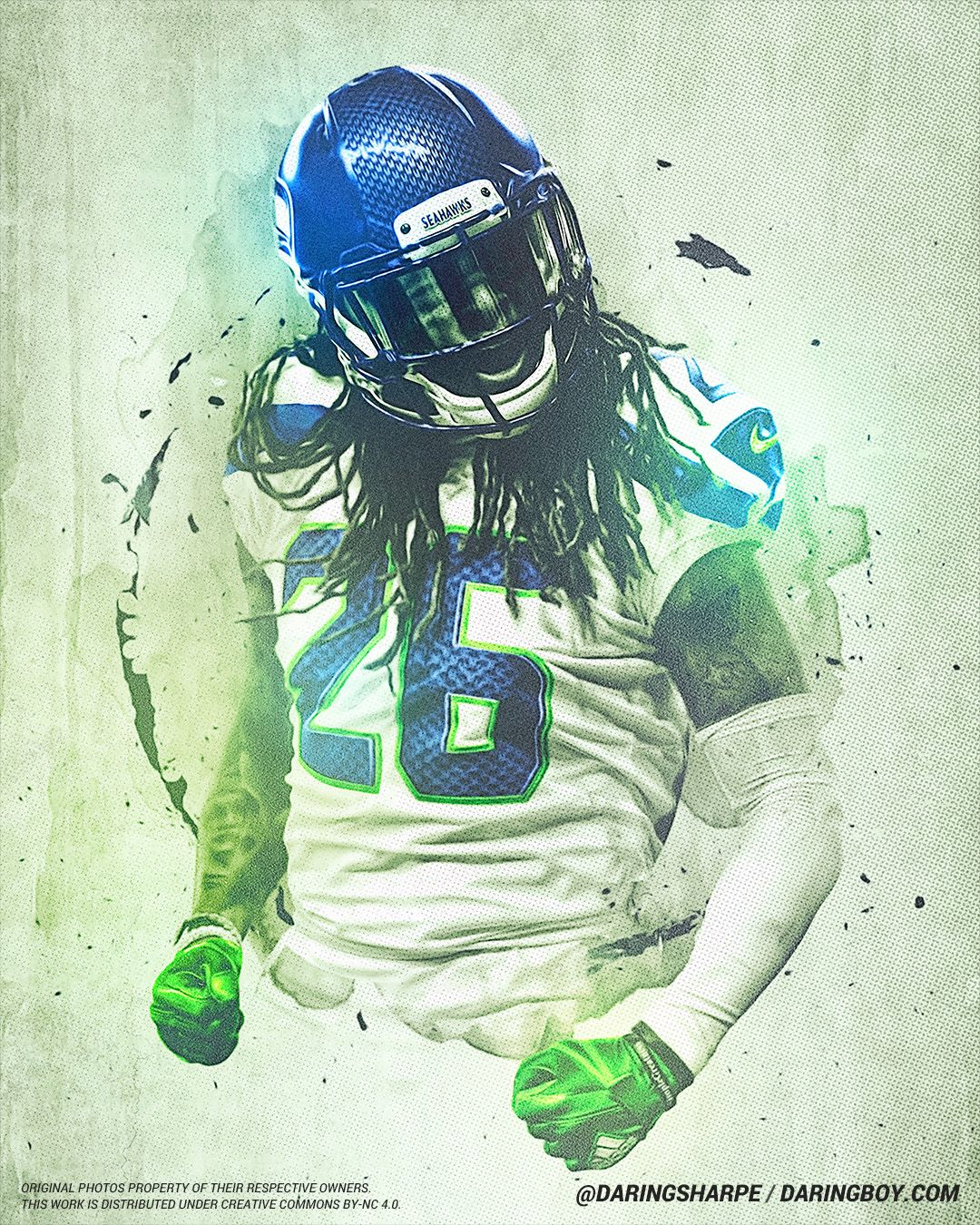 Shaquill Griffin Seattle Seahawks Seattle Seahawks Seattle Seahawks Football Seahawks