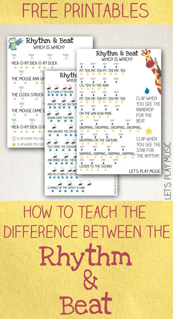 how to teach the difference between the rhythm and the beat music curriculum teaching music music activities