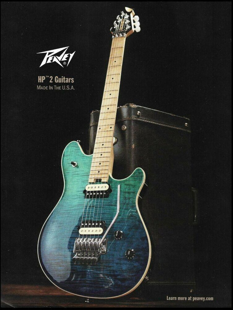 hartley peavey 2017 hp 2 signature guitar advertisement 8 x 11 ad print # peavey in 2020 | signature guitar, guitar, peavey  pinterest