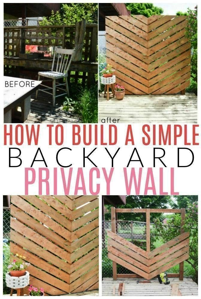Create A Simple Chevron Outdoor Privacy Wall Learn How To Use It With  pro  How To Create A Simple Chevron Outdoor Privacy Wall Learn How To Use It With  How To Create A...