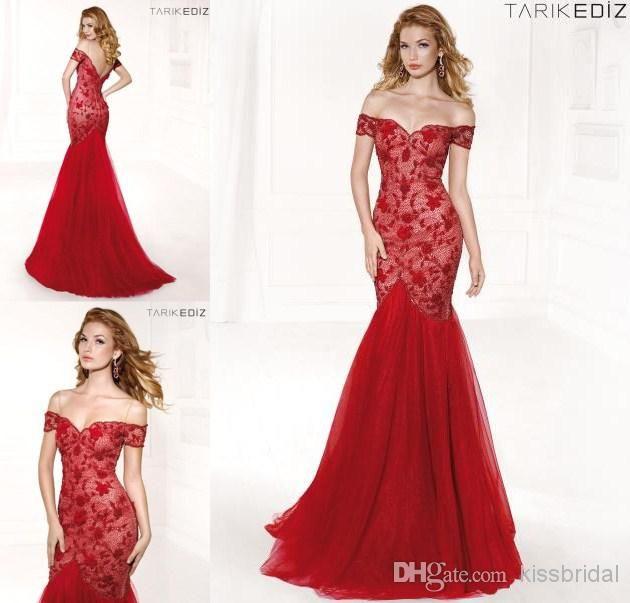 Wholesale Tarik Ediz Prom Dresses - Buy 2014 New Collection Tarik ...