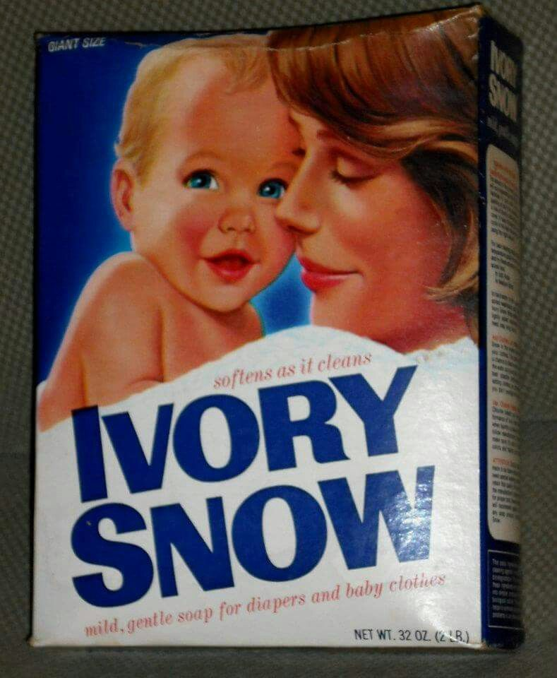 Ivory Snow Laundry Detergent And Dreft Were All Mom Used For The