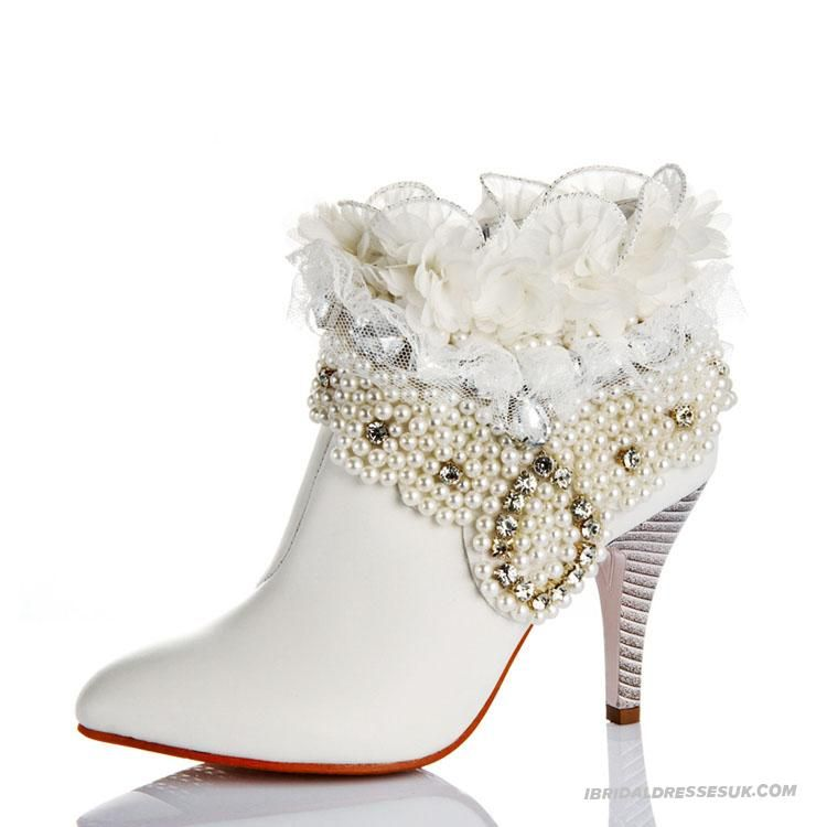 Bridal Boots Autumn and Winter Genuine Leather Womens  IBS0684_0