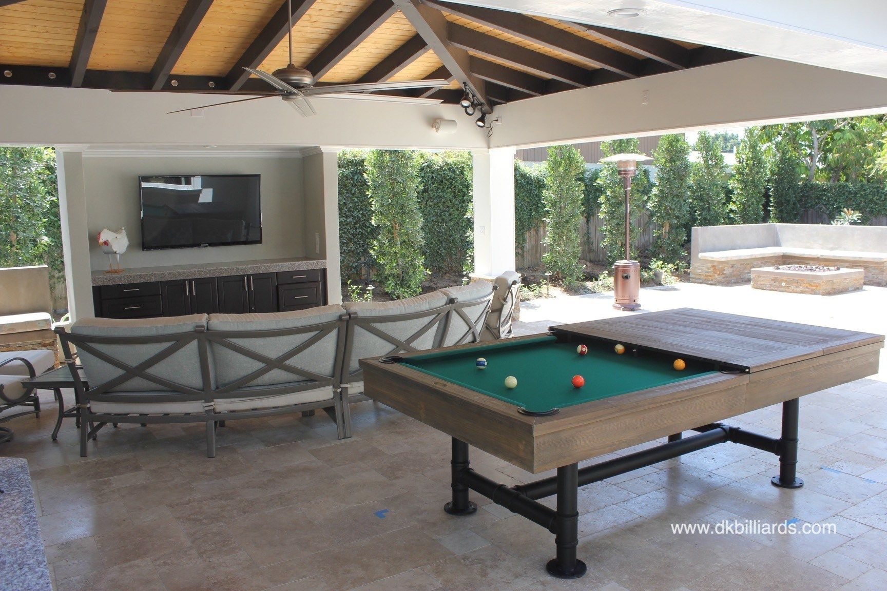 Used Pool Tables Buyers Guide Part 1 Robbies Billiards >> Rustic Dining Pool Table With Industrial Edge 4th Car Remodel