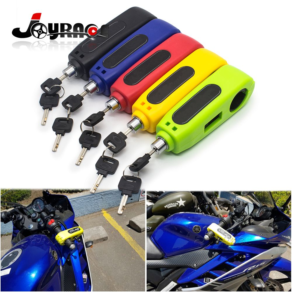 Universal Motorcycle Lock Motorbike Scooter Handlebar Safety Lock