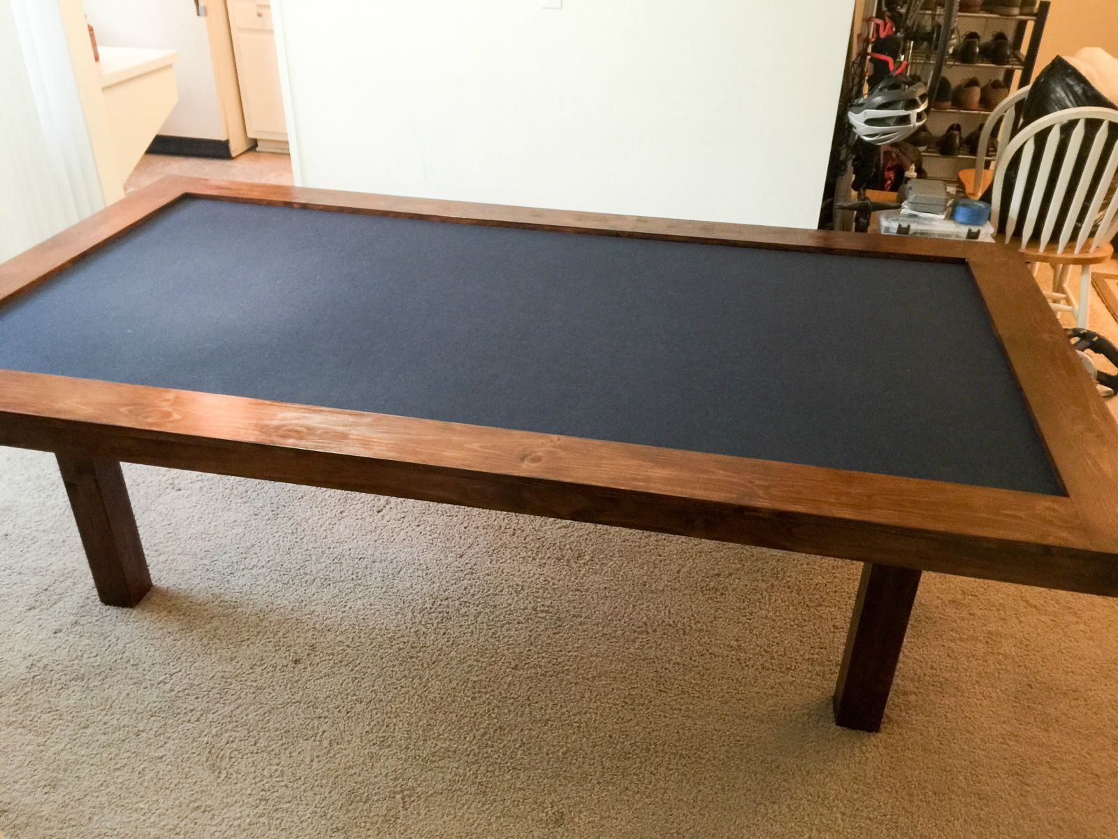 Building A Dining Room Gaming Table Table Games Game Room