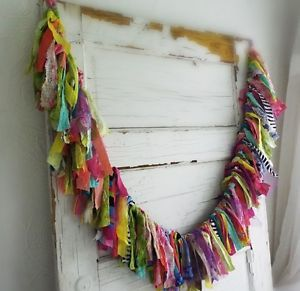 Details about Bohemian Chic Gypsy Garland Home Decor Rags ...