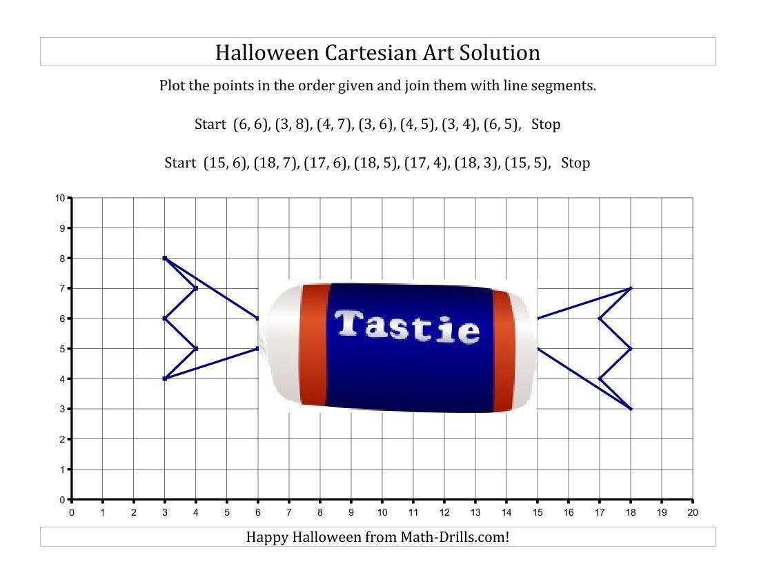 Cartesian Art Halloween Candy