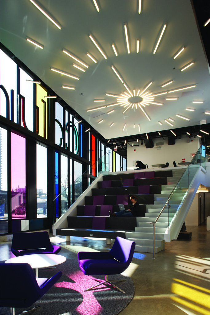 Studio Gang Architects Columbia College Chicago Media Production New Interior Design Programs Chicago