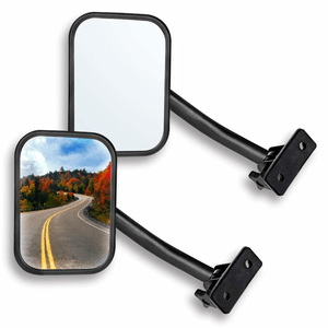 Do You Want To Take The Doors Off Your Jeep This Summer Without Worrying About Getting A Ticket For Not Having Jeep Mirrors Rectangular Mirror Jeep Wrangler Tj