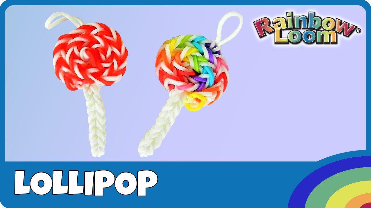 Rainbow Loom Lollipop deutsche Anleitung YouTube