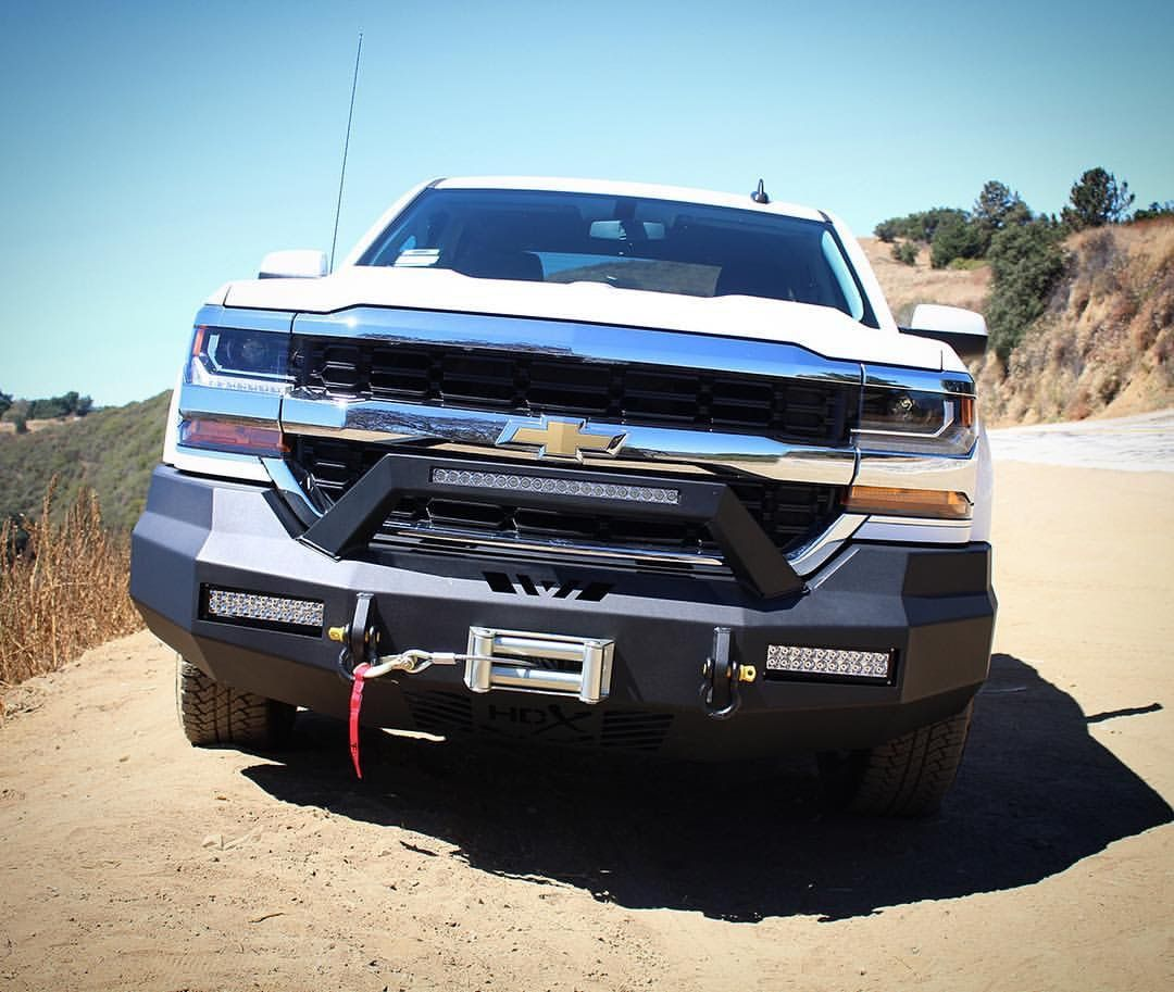 Featuring Our Hdx Front Bumper On A 2016 Chevy Silverado 1500 Hdxbumpers Westinauto Westinledlights 2016chevysilv Chevy Chevy Silverado 1500 Truck Bumpers
